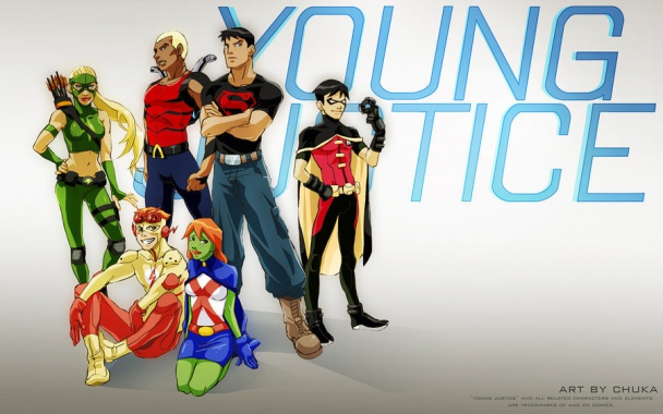 young justice serie real cw dc