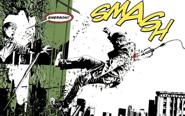 2 green arrow maquina de matar andrea sorrentino jeff lemire dc comics analisis critica opinion ecc ediciones