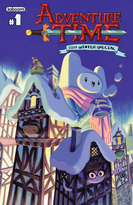 Adventure Time 2014 Winter Special Portada A