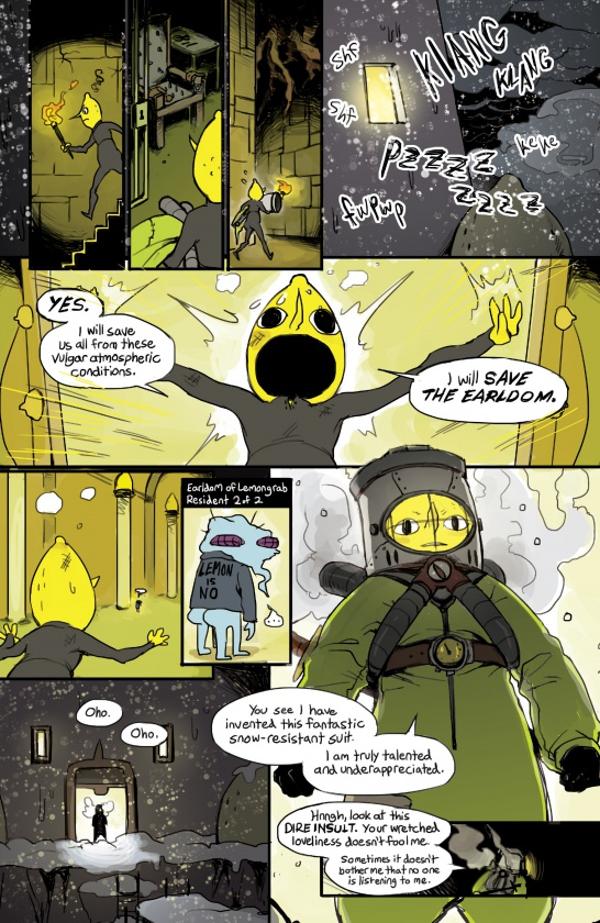 Página de Adventure Time 2014 Winter Special
