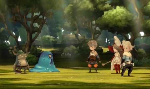 Bravely-Default combate 2
