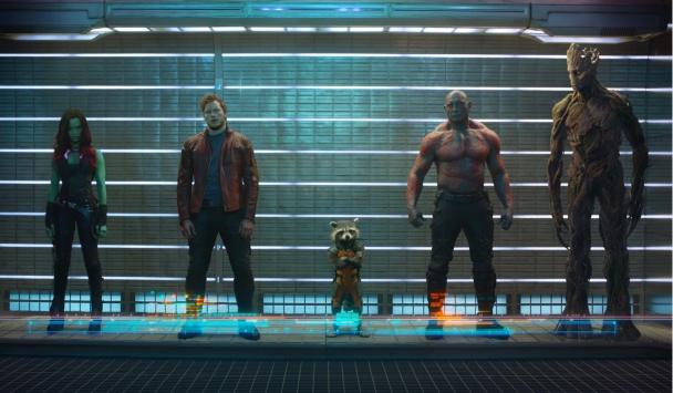 Imagen Guardianes de la Galaxia grupo