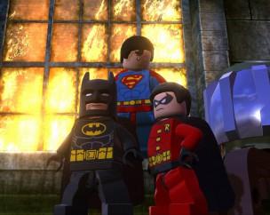 Batman & Robin junto a Superman