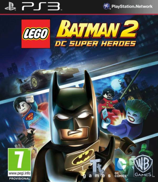 Portada de Lego Batman 2: DC Super Heroes para PS3