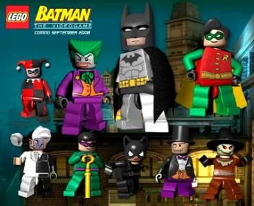Así lucían los héroes y villanos de Lego Batman: El Videojuego