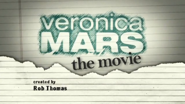 Logo Veronica Mars la película