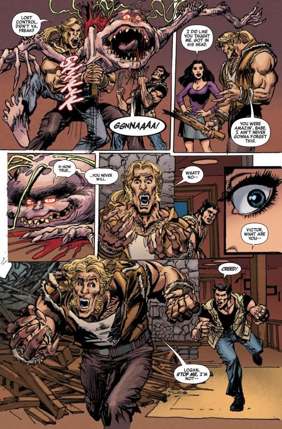 Página de The First X-Men