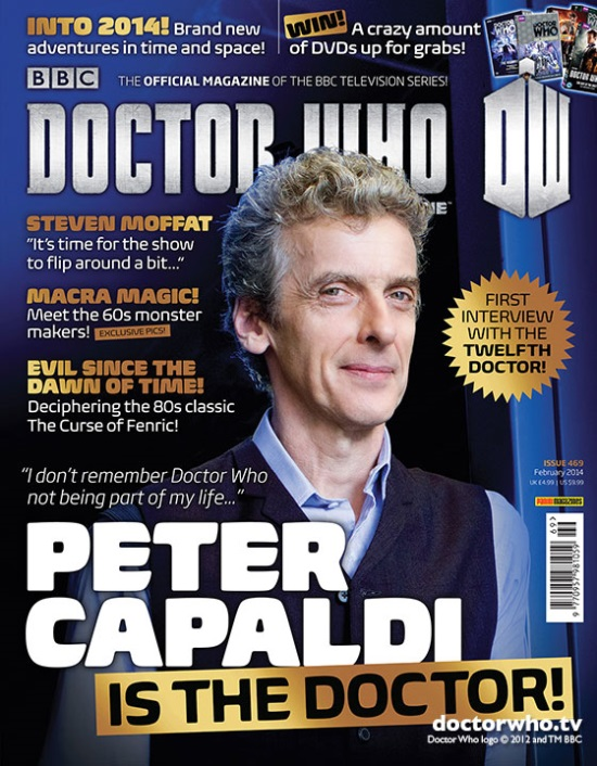 Portada Doctor Who Peter Capaldi