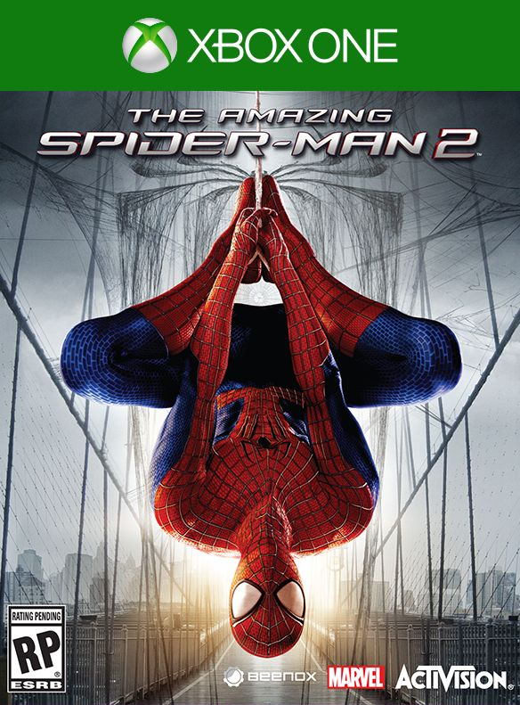 Portada amazing spider-man 2 game