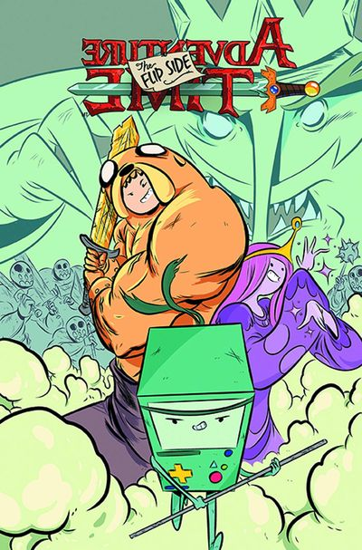 Portada de Adventure Time Flip Side #1