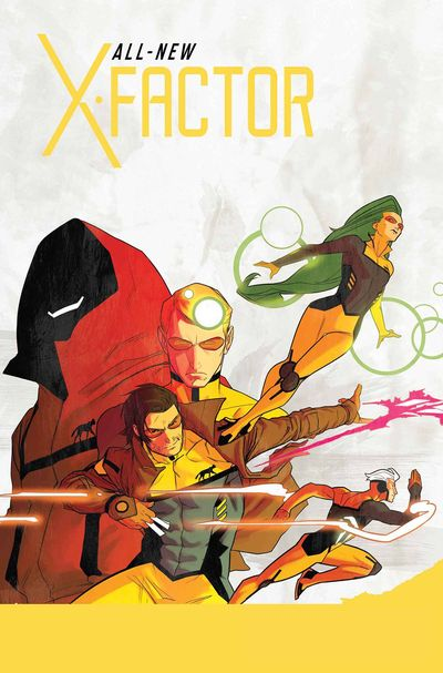 Portada de All-New X-Factor #1