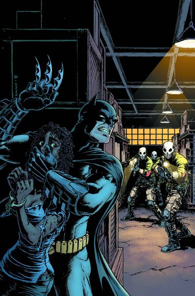 Portada de Batman The Dark Knight #27