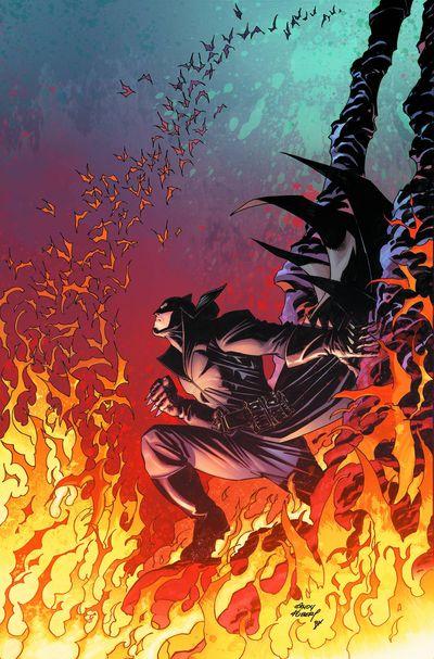 Portada de Damian Son of Batman #4