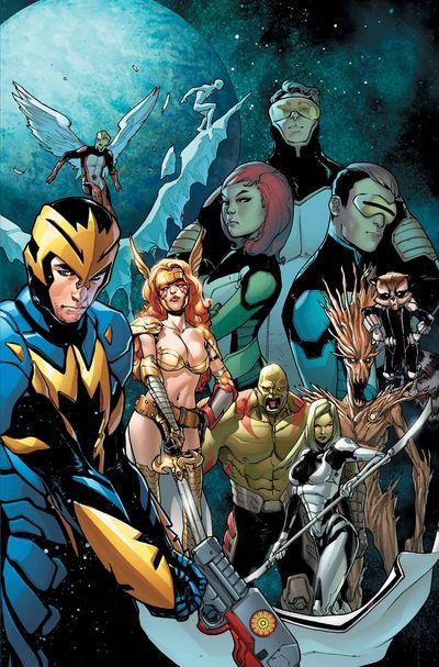 Portada de Guardians of the Galaxy #11