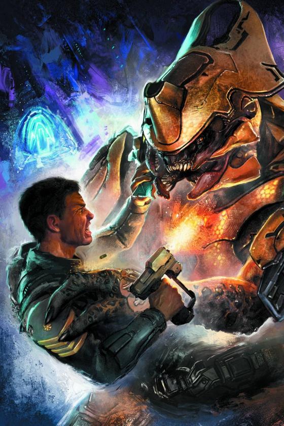 Portada de Halo Escalation #2