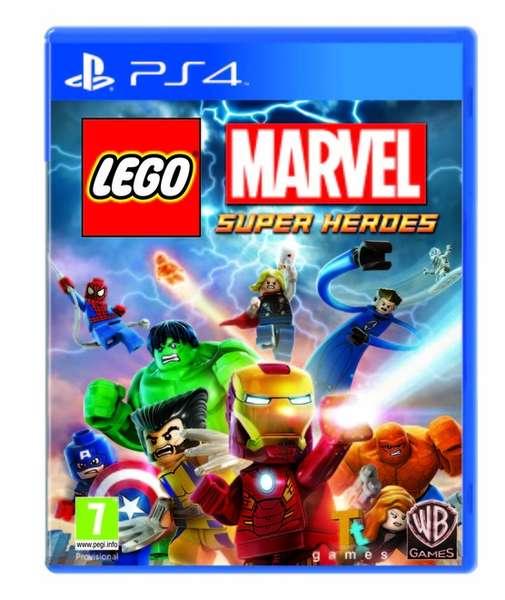 Portada de LEGO Marvel Super Heroes