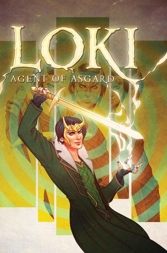Portada de Loki Agent of Asgard #1
