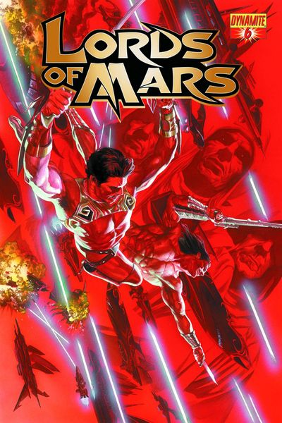 Portada de Lords of Mars #6