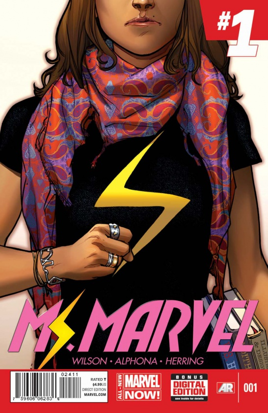 Portada de Ms. Marvel #1