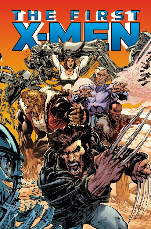 Portada de The Fist X-Men