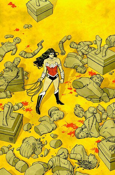 Portada de Wonder Woman #27