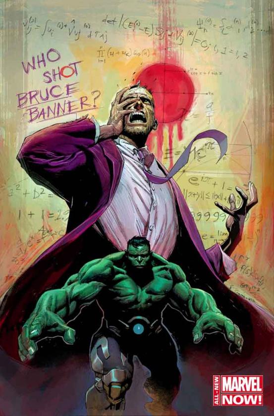 Cubierta para el #1 de Hulk, en abril de 2014