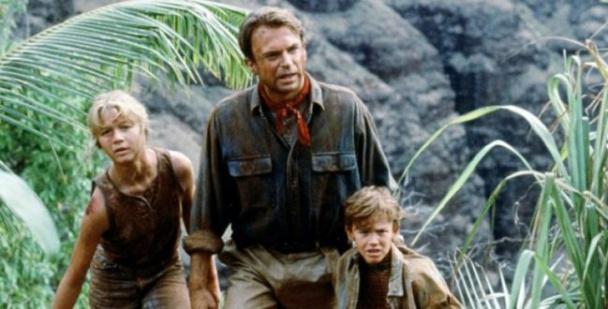 """Sam Neill en una escena de la ya mítica """"Parque Jurásico"""""""