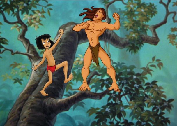 mowgli vs tarzan