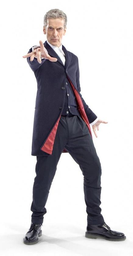 peter capaldi doctor who nuevo traje temporada 8