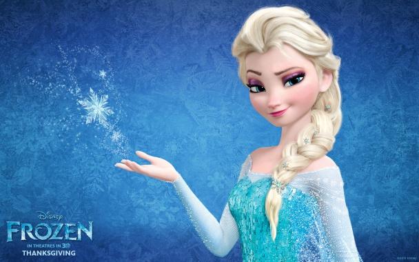 La bella Elsa de Frozen
