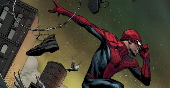 Portada alternativa de Amazing Spider-Man #1 por Jerome Opeña