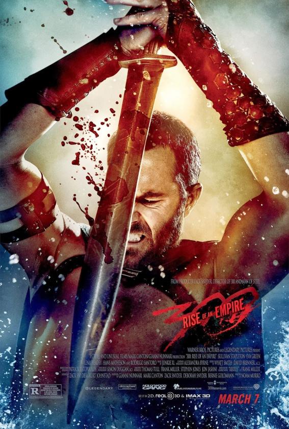 """Impactante póster de la película """"300: el Origen de un Imperio"""""""