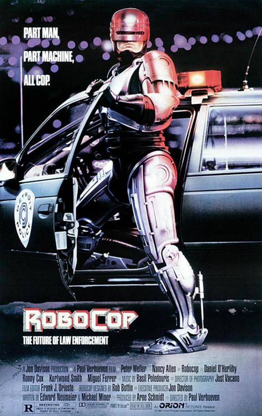 Cartel de Robocop