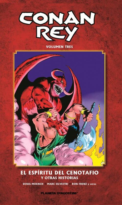 Conan Rey #3: El espíritu del Cenotafio