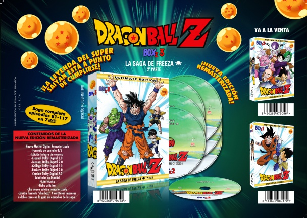 DragonBall Z Box 3