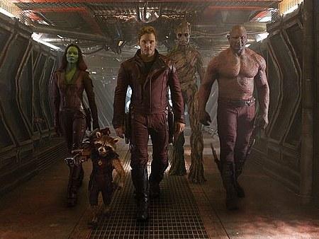 Guardianes de la Galaxia equipo