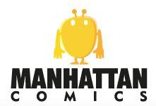 Logo Manhattan Comics