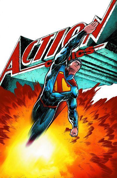 Portada de Action Comics #28