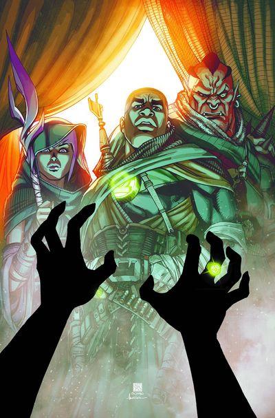 Portada de Green Lantern Corps 28