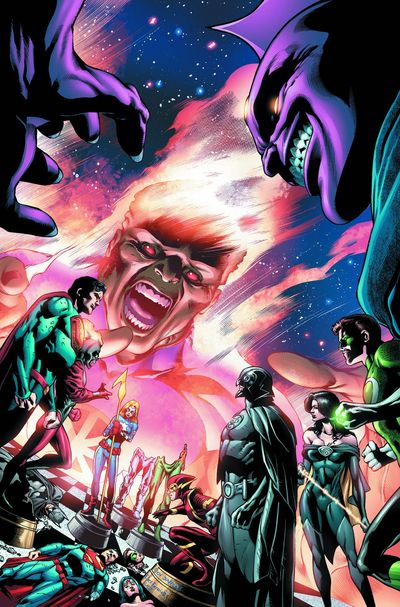 Portada de Justice League of America #12