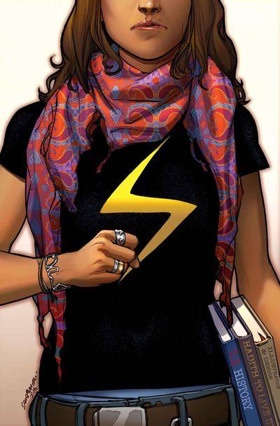 Portada de Ms. Marvel #1