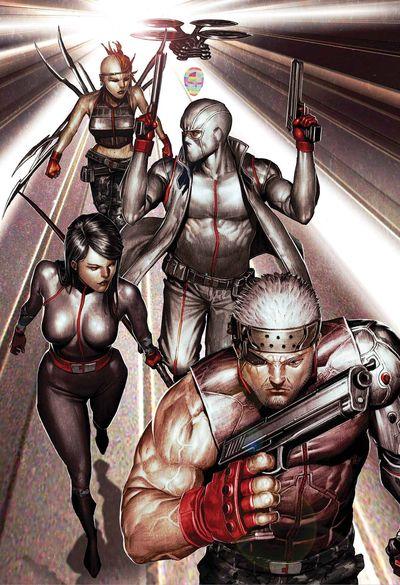 Portada de X-Force #1