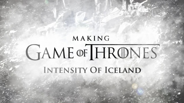 """Juego de tronos """"Intensity of Iceland"""""""