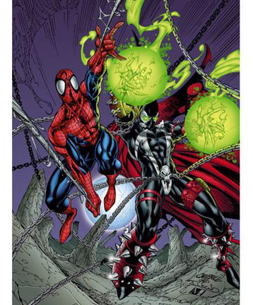 Spider-Man y Spawn