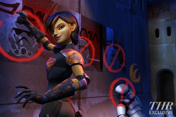 Star-Wars-Sabine-rebels-mandaloriana-experta-armas-serie-tv