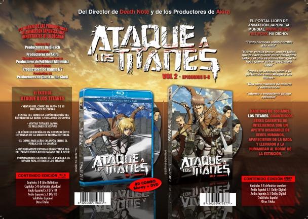 Ataque a los Titanes Vol. 2