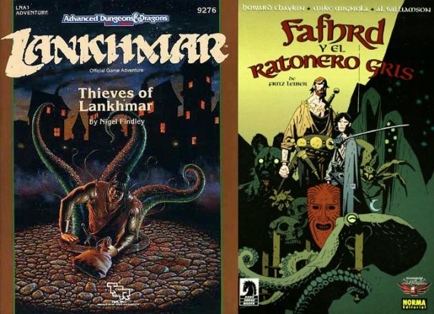 advance-dungeons-lankhmar-mignola-fafhrd-ratonero-gris-mignola-norma-fritz-leiber