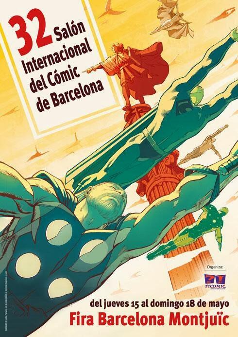 Cartel del Salón del Cómic de Barcelona