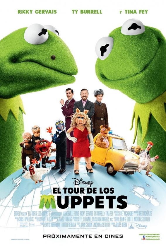 cartel El Tour de los Muppets