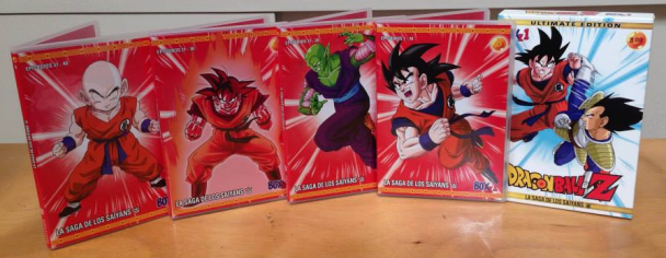 Primer Box Set de Dragon Ball Z